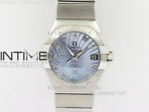 Constellation 28mm V6F SS Blue Dial on SS Bracelet A8520
