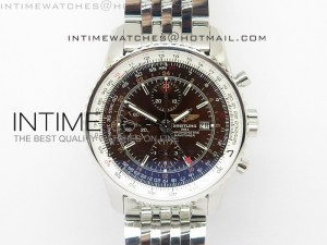 Navitimer GMT SS Brown JF 1:1 Best Edition A7750