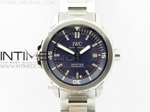 Aquatimer Automatic IW329004 V6F 1:1 Best Edition Blue dial on SS Bracelet MIYOTA 9015