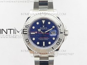 Yacht-Master 116622 1:1 Noob Best Edition Blue Dial on SS Bracelet A2824