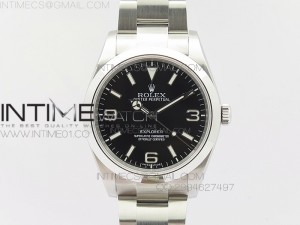 EXPLORER I 214270 2016 Baselworld 39mm Noob 1:1 Best Edition on SS Bracelet A2824
