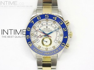 2014 YachtMaster II SS/YG White Dial on SS/YG Bracelet A2813