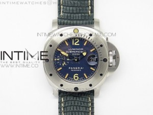 PAM087 H Maker Best Edition Blue Dial on Lizard Strap A7750