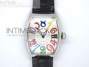Crazy Hour Color Dreams White A21J