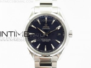Aqua Terra 150M SS VSF 1:1 Best Edition Blue Textured Dial on SS Bracelet VS8500