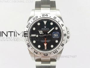 Explorer II 42mm 216570 SS BP Black Dial A3187