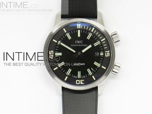 Aquatimer Automatic Vintage 1967 on Black Rubber Strap A7750