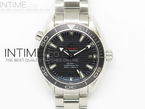 "Planet Ocean Professional Ceramic Bezel ""007 Limited Edition"" 42mm V6F on SS Bracelet A8501"
