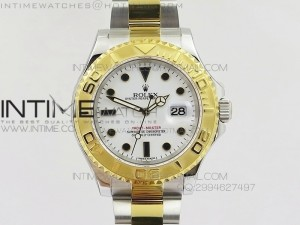 Yacht-Master 116622 JF Best Edition SS/YG White Dial on Bracelet A2836