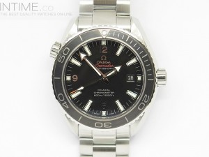 Planet Ocean Professional Ceramic Bezel 45mm 1:1 Best Edition on SS Bracelet A8500
