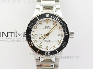 Aquatimer Automatic SS Noob Best Edition White Dial on SS Bracelet A2824