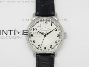 Classic Regulator MK Best Edition SS White Dial Number Markers on Black Leather Strap A88275