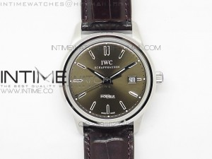 Ingeniuer St.Laurens SS Brown Dial MK 1:1 V2 Best Edition A80111 on Brown Leather Strap