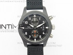 PILOT IWC388001 ZF 1:1 Best Edition Ceramic Case on Nylon Strap A7750