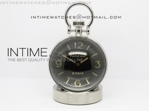 PAM581 Table Clock 65mm 8 Days